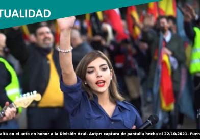 La líder falangista Isabel Peralta recibe una beca por un partido nazi para formarse en Alemania