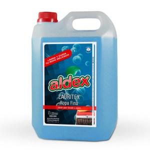 Jabón líquido para ropa, lavado a mano Aldex.