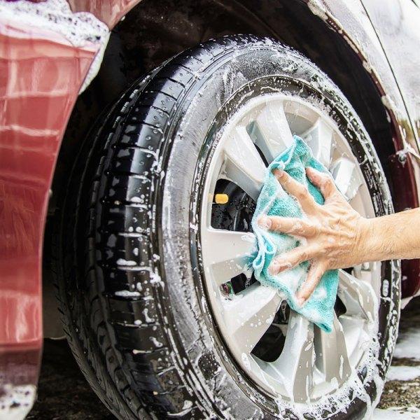 Lavado del auto.