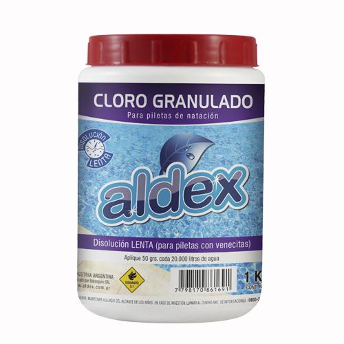 cloro granulado lento x 1