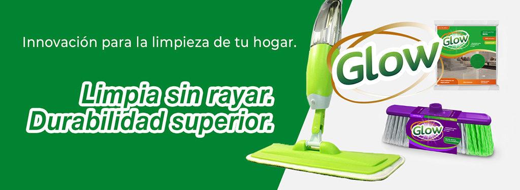 Productos de limpieza Glow