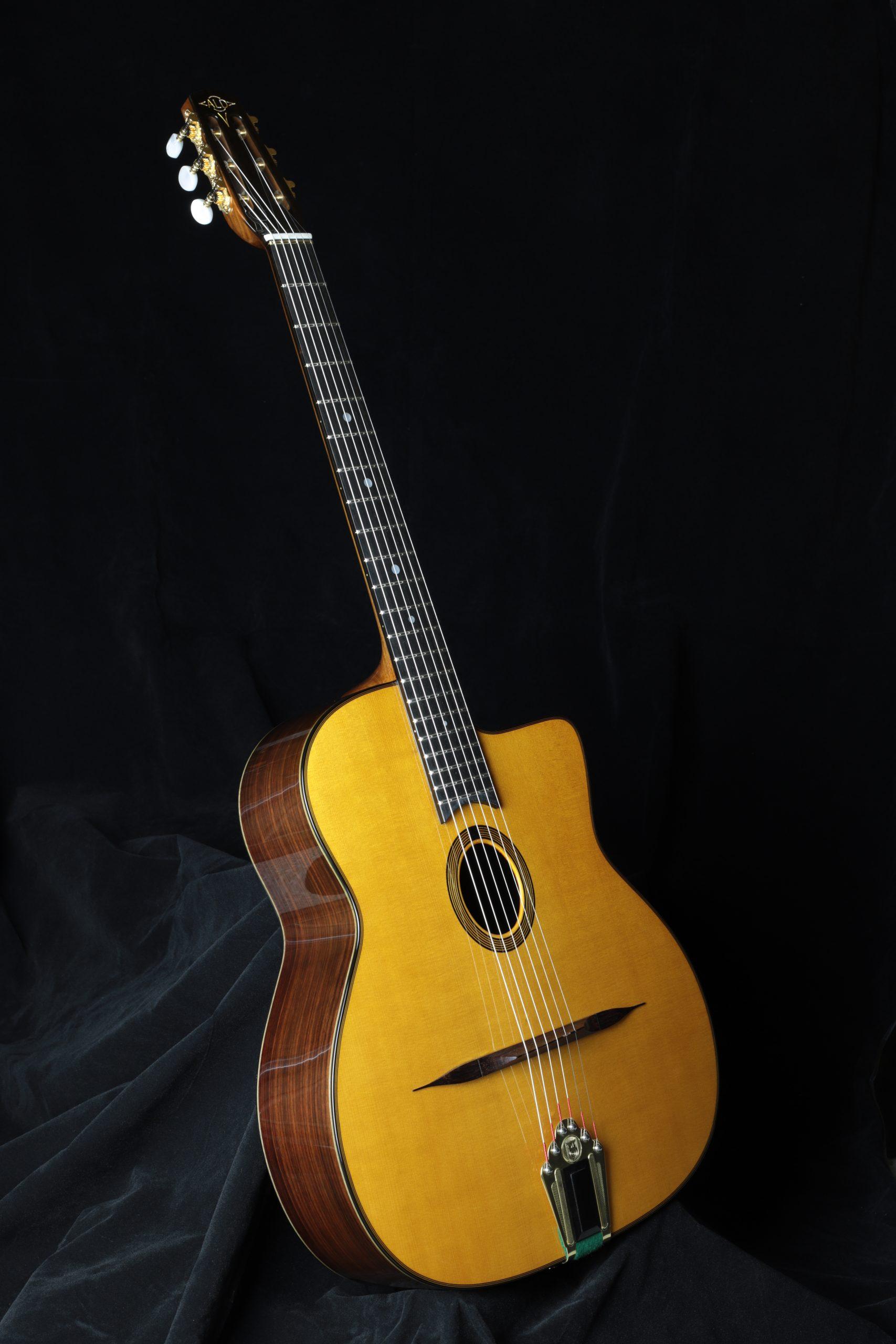 Guitare originale petite bouche