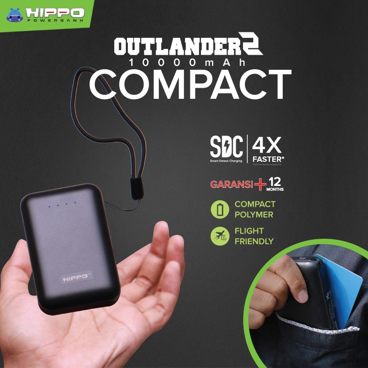 HIPPO Outlander2 Powerbank