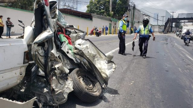 Fatal Accidente en ruta al Pacífico
