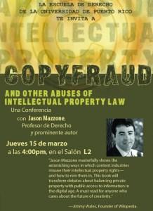 """Microjuris transmitirá la conferencia """"Copyfraud"""" ofrecida por Jason Mazzone en la UPR"""