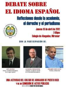 Debate sobre el idioma español: reflexiones desde la academia, el derecho y el periodismo