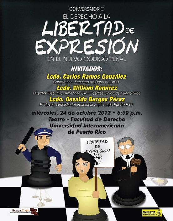 Conversatorio: El derecho a la libertad de expresión en el nuevo Código Penal