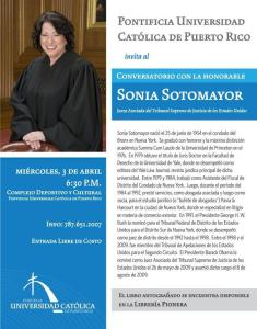 Hon. Sonia Sotomayor