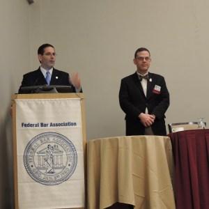 """Judge Gelpí and Robert J.""""Bob"""" DeSousa"""