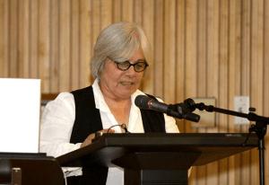 La presentación del libro estuvo a cargo de la doctora Liliana Ramos Collado, Directora Ejecutiva del Instituto de Cultura Puertorriqueña.