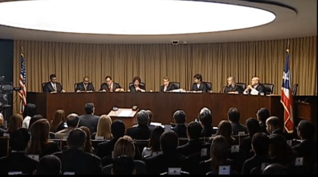 Panorámica de jueces: vista pública de constitucionalidad de retiro de la judicatura