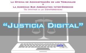 Conferencia de justicia digital en la Inter Derecho