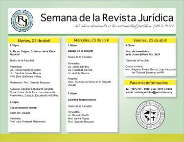 Revista Jurídica de la Interamericana cumple 50 años