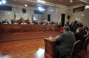 Vista pública de Maite Oronoz, nominada al Tribunal Supremo