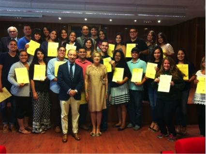 Estudiantes de Inter Derecho culminan curso de Derecho español en Madrid