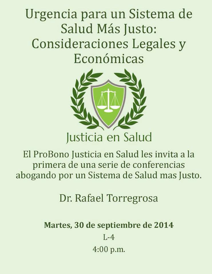 Urgencia para un sistema de salud más justo: consideraciones legales y económicas