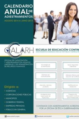 OCALARH estrena nuevo calendario de adiestramientos