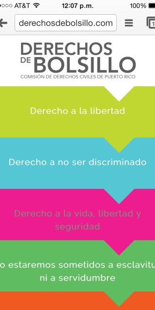 Aplicación móvil para educar sobre los derechos humanos