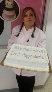 Marjorie Silva, dueña de Azúcar Bakery