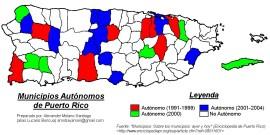 Municipios Autnomos de PR