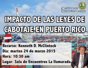 Impacto de las leyes de cabotaje en Puerto Rico