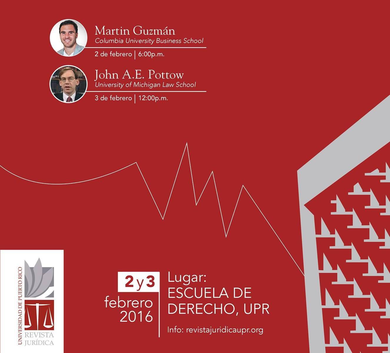 Revista Jurídica de la Universidad de Puerto Rico celebra simposio sobre la deuda pública y el porvenir de Puerto Rico