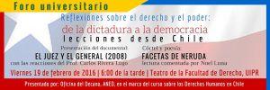 Reflexiones sobre el derecho y el poder: De la dictadura a la democracia, lecciones desde Chile