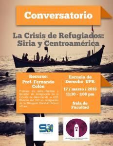 La crisis de refugiados: Siria y Centroamérica