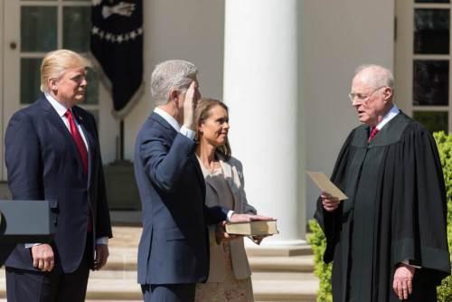 Neil Gorsuch comienza hoy mandato como juez del Tribunal Supremo de Estados Unidos