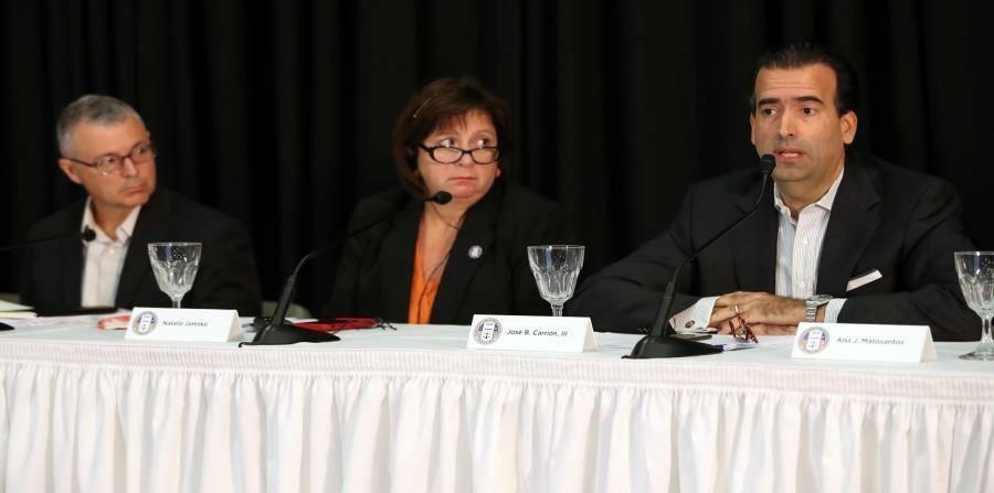 Junta de Supervisión Fiscal testifica ante el Congreso, prevé rol más activo tras huracán María