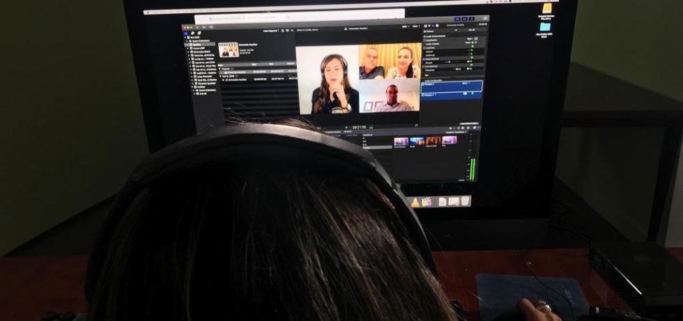 grabación transmisión vídeo skype