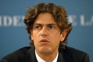 zzzznacp2 NOTICIAS ARGENTINAS Baires, abril 18: El Ministro de Economia Martin Losteau, anuncia el superavit fiscal en Casa de Gobierno. foto:hugo villaloboszzzz