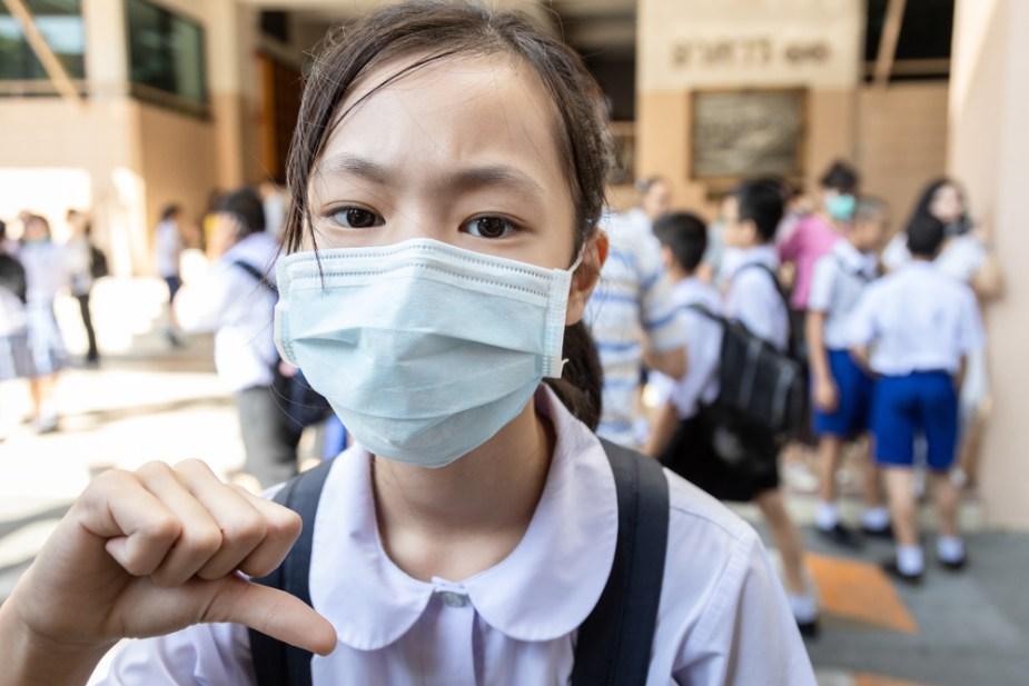 coronavirus escuela