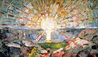 Edvard Munch - The Sun