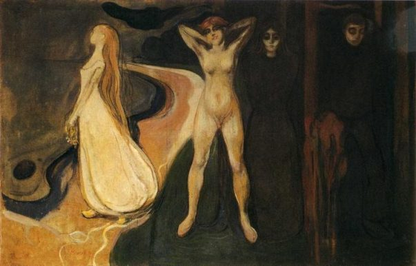 Edvard Munch - woman-in-three-stages