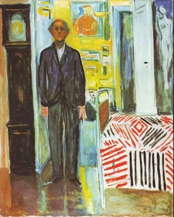 Edvard Munch - tra letto e orologio