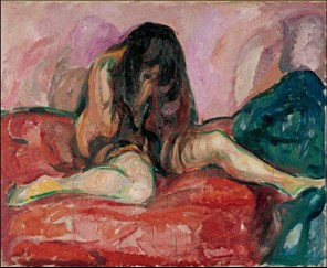Edvard Munch - nudo 1913