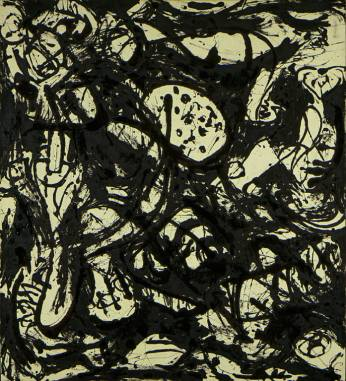 Jackson Pollock - black-white-number-20-1951