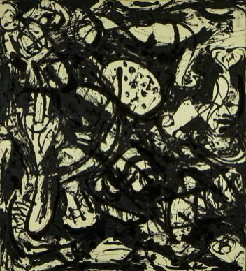 Jackson Pollock - black-white-number-20-1951