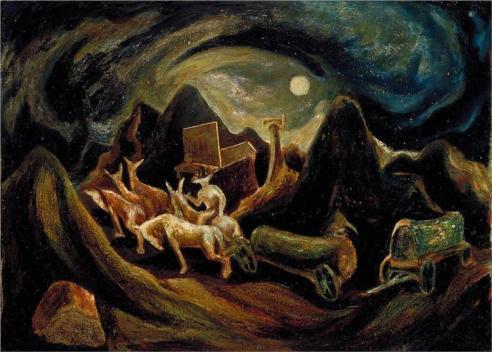 Jackson Pollock - going-west