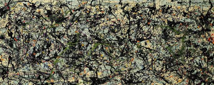 Jackson Pollock - lucifer