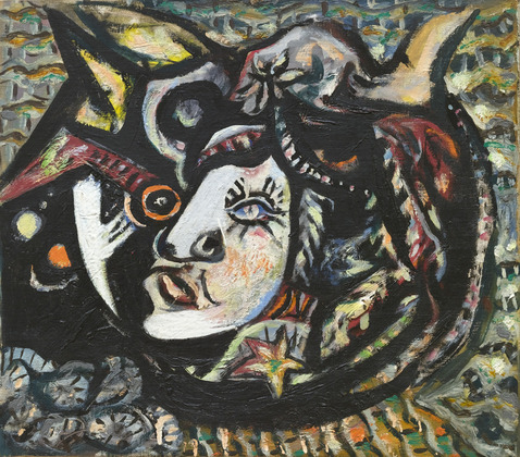 Jackson Pollock - mask