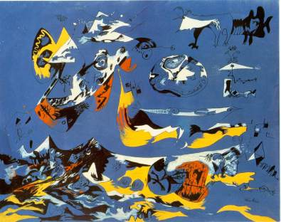 Jackson Pollock - moby-dick