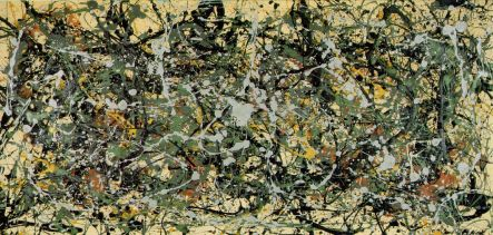 Jackson Pollock - Number-8-1949