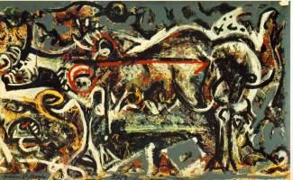 Jackson Pollock - she-wolf