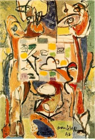 Jackson Pollock - The tea-cup
