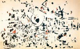 Jackson Pollock - untitled-1951