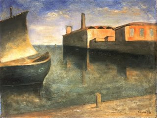 Laguna - Carlo Carrà
