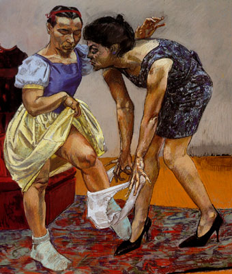 Paula Rego - snow white and her Stepmother, 1995