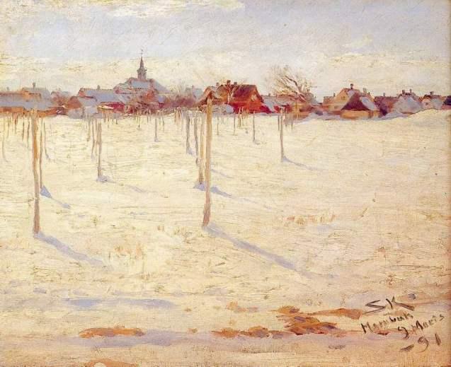 Peder S. kroyer – Inverno